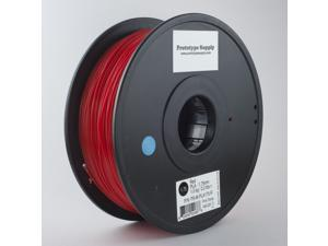 Prototype Supply PLA 3D Printing Filament 3mm Red 1kg/roll (2.2 pounds)