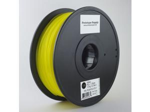 Prototype Supply PLA 3D Printing Filament 3mm Yellow 1kg/roll (2.2 pounds)