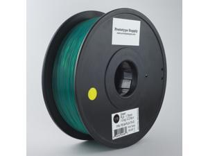 Prototype Supply PLA 3D Printing Filament 3mm Green 1kg/roll (2.2 pounds)