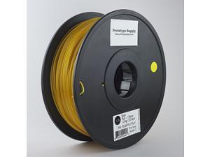 Prototype Supply PLA 3D Printing Filament 3mm Gold 1kg/roll (2.2 pounds)