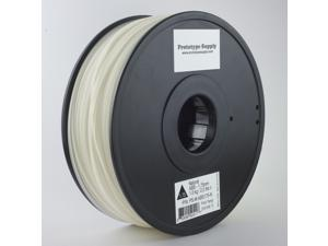 Prototype Supply ABS 3D Printing Filament 3mm Natural 1kg/roll (2.2 pounds)