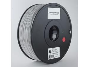 Prototype Supply ABS 3D Printing Filament 3mm White 1kg/roll (2.2 pounds)