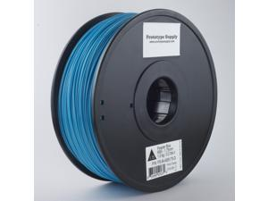 Prototype Supply ABS 3D Printing Filament 1.75mm Powder Blue 1kg/roll (2.2 pounds)