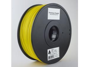 Prototype Supply ABS 3D Printing Filament 3mm Yellow 1kg/roll (2.2 pounds)