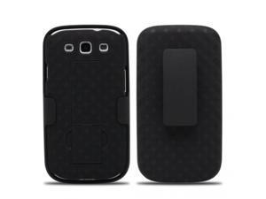 Samsung Galaxy S III/ Galaxy S3 Samsung Galaxy S3, Samsung i9300, Samsung Galaxy S III R530X Weave Pattern Combo Holster Verizon, US Cellular, AT&T