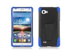 T-Stand Hybrid Dual Armor Case Compatible with LG Optimus 4X HD P880