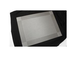 Kingston and Grace Silver Frame Placemat, 12ct