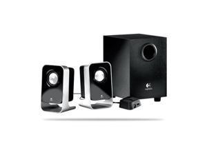 NEW Logitech LS21 7 Watts RMS 7W(FTC) 2.1 Stereo Speaker System Black