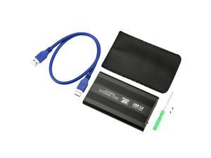 Durable USB 3.0 HDD Hard Drive External Enclosure 2.5 Inch SATA HDD Case Box USA