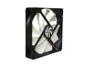 NZXT FN-140RB 140mm Computer Case Fan, 3pin and 4pin Molex, 1300RPM, 62.5CFM