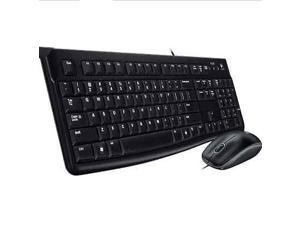 Logitech MK120 Ergonomic Slim USB Keyboard and Optical USB Mouse Combo