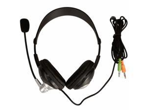 New YH-440 3.5mm Multimedia Headset Headphone with Microphone and Volume Control