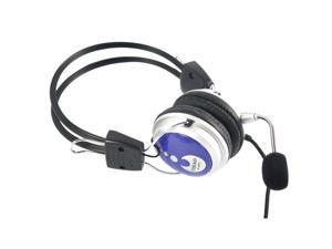 New MV5 3.5mm Stereo Wired Over the Head Headset Headphones/Microphone for PC Laptop/Notebook