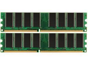 2GB KIT 2X1GB PC3200 DDR 400MHZ LOW DENSITY RAM MEMORY
