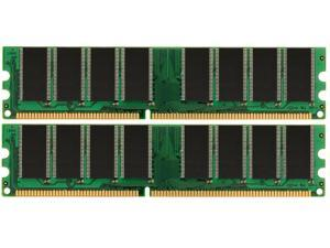 2GB KIT (2x1GB) PC3200 DDR400 400Mhz 184pin DIMM Desktop Memory High Density