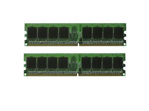 2GB 2x1GB DDR2 PC5300 PC2 5300 667 MHz LOW DENSITY Desktop Memory RAM KIT