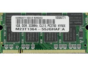 M9594G/A 1GB PC2700 SODIMM PowerBook iBook G4 iMac G4 Memory