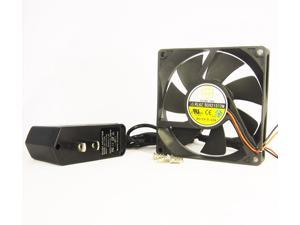 92mm 15mm New AC Fan 110V 115V 120V AC Cooling Kit Ball Bearing Cabinet ...