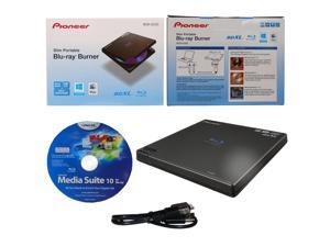 Pioneer BDR-XD05 External Slim Portable Blu-ray BDXL DVD CD Burner Writer Drive