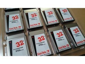 32MB PCMCIA PC Card II Flash Disk ATA Memory for GE Fanuc (CNC)