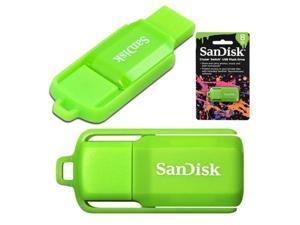 2 x 8GB = 16GB  Cruzer Switch USB 2.0 Flash Drive Green
