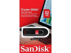32GB Cruzer GLIDE USB Flash Pen Drive SDCZ60-032G-B35 Sealed Retail Pk