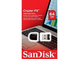 64GB Cruzer FIT USB 2.0 Flash Mini Thumb Pen Drive SDCZ33-064G RETAIL 64