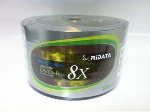 100-Pack 8X RiDATA  DVD-R DVDR Blank Disc