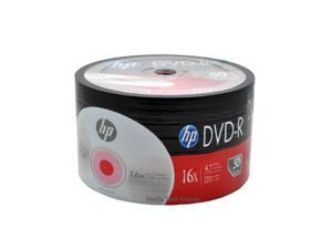 100-Pack 16X HP  Blank DVD-R DVDR Recordable Disc Media 4.7GB Shrink Wrapped
