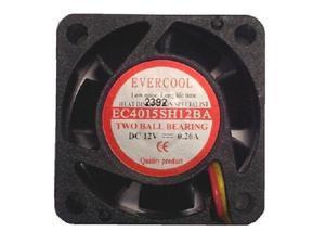 40mm x 15mm Dual Ball Bearing High Speed Fan EC4015SH12BA