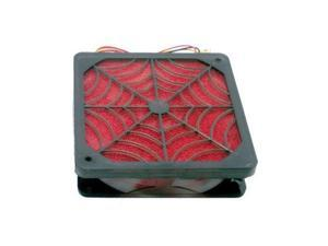 120mm x 25mm Spider Filter Cooling Fan with Dust Filter