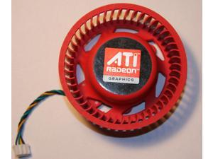 New ATI Video Card 4870 5970 5870 5850 4890 5450 5650 4350 Replacement 75mm fan