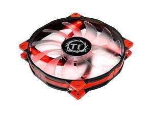 Thermaltake CL-F025-PL20RE-A Luna 20 LED Red Anti-vibration 200mm Fan