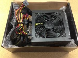 800W Gaming 120MM Fan Silent ATX Power Supply SATA 12V