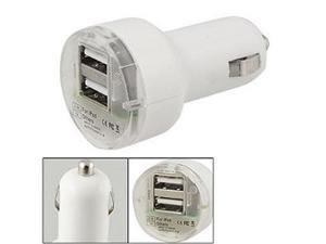 2 Port Dual USB DC Car Charger Adapter Accessory For Apple iPhone 5 5G 4 4S 4GS