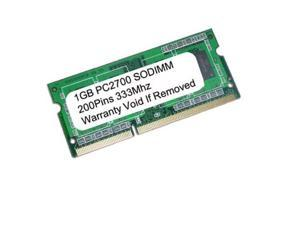 1GB PC2700 333 SODIMM DELL D500 D505 D600 D800 X300 RAM