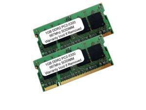 2GB KIT 2x 1GB DDR2 PC2-5300 667MHz PC5300 Sodimm Memory Ram for Apple Mac Book
