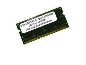 8GB Kit 2x 4GB SODIMM DDR3 Laptop 10600 1333MHz 1333 204pin Ram Memory
