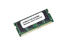 512MB PC 100 SDRAM 144 PIN SODIMM/LAPTOP LOW DENSITY