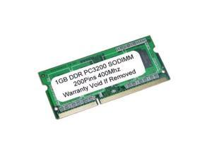 1GB DDR PC3200 PC2700 400MHz 333MHz 200Pin SODIMM LAPTOP MEMORY RAM APPLE MAC