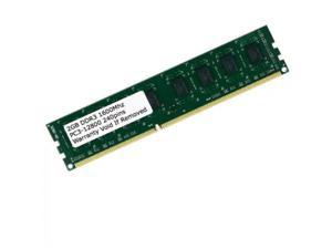 DDR3 2GB 1600MHz 240PIN PC3-12800 DESKTOP RAM Low Density Major Brand MEMORY