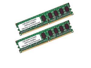 2GB Kit 2 x 1GB DDR2 800 MHz PC2-6400 Non ECC Desktop Memory Dell Dimension
