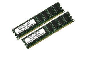 2GB Kit DDR PC2100 2X 1GB PC 266 Mhz 184 pin CL 2.5 LOW DENSITY DESKTOP MEMORY