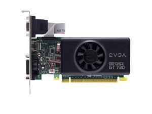 EVGA NVIDIA GeForce GT 730 2GB GDDR5 VGA/DVI/HDMI Low Profile pci-e Video