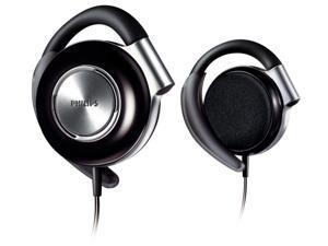 Adjustable Earclip Headphones {SHS4700/28} Black