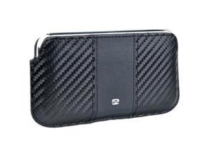 PureGear Carbon Fiber Soft Case Cover For Apple iPhone 3G/ 3GS, iPhone 4/ 4S - Black (Fit All Carriers)