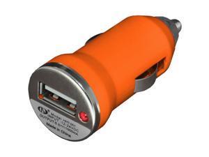 NEW Slim USB Vehicle Power Adapter VPA Universal Car Charger - Orange