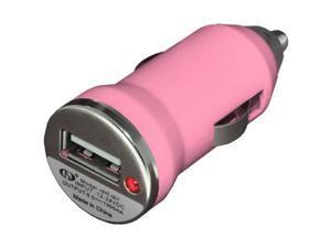 NEW Slim USB Vehicle Power Adapter VPA Universal Car Charger - Light Pink