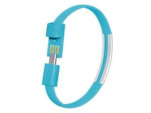 Micro USB Bracelet Wristband High Speed Charging Data Cable Micro USB Cable for Smartphones, Tablet, Computer, PC