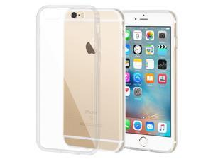 Premium Shockproof Soft Slim Clear TPU Clear Back Case Cover Skin for Apple iPhone 6 Plus/ 6s Plus - Pack of 2